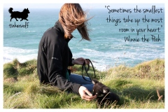tinkerwolf dog photo quotes 60 Sometimes the smallest