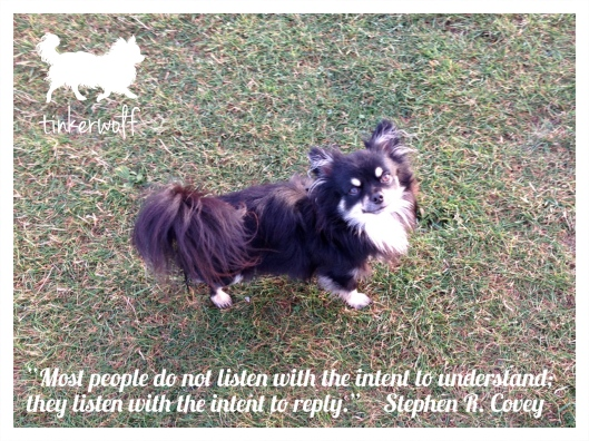 tinkerwolf dog photo quotes 74 Most people do not listen.jpg
